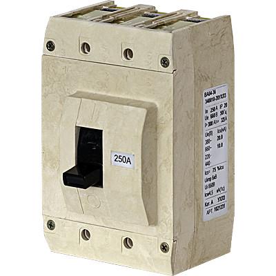 Выключатель авт. ВА04-36-331810-20УХЛ3 250А 660В уставка 1000А Контактор 1026879 купить в интернет-магазине RS24