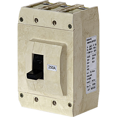 Выключатель авт. ВА04-36-331110-20УХЛ3 250А 660В Контактор 1038292 купить в интернет-магазине RS24