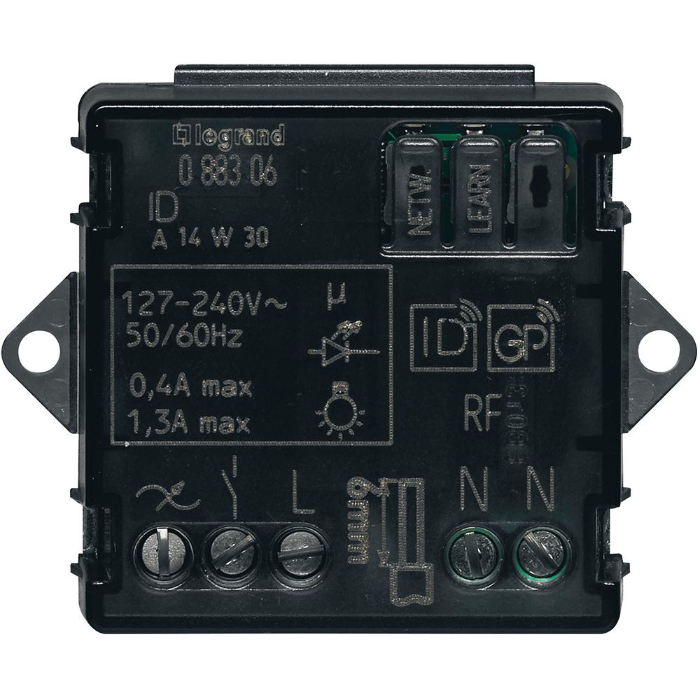 Микромодуль выключателя с нейтралью MyHome Play Zigbee 1 канал 300Вт Leg BTC 3584 купить в интернет-магазине RS24