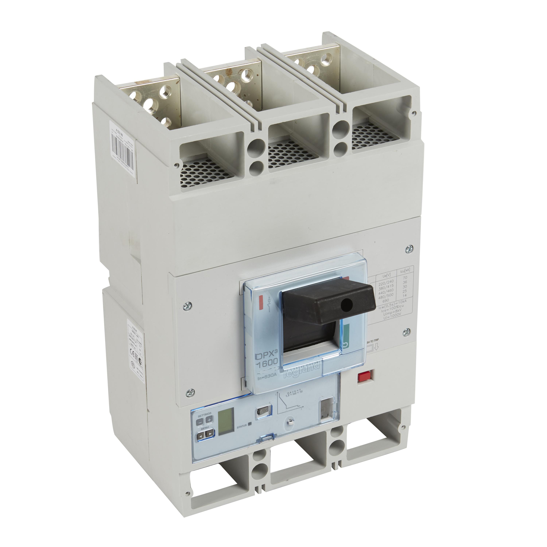 Выключатель авт. 3п 1250А DPX3 1600 100кА S2/И Leg 422386 купить в интернет-магазине RS24