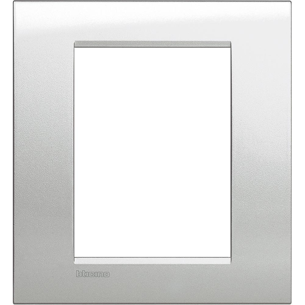 Рамка 3+3-м LivingLight Лунное серебро Leg BTC LNA4826GL купить в интернет-магазине RS24